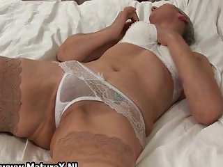 Granny loves wearing stockings