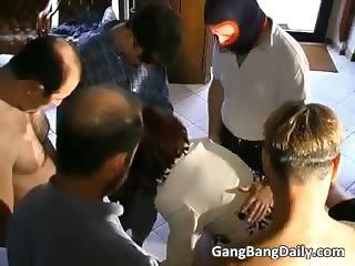 Excellent gang bang in doctors office part6