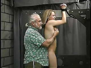 Man binds cute blond 039 s wrists and show her who 039 s boss.