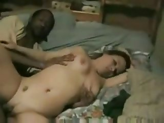 Cuckold Hubby share young wife with BBC