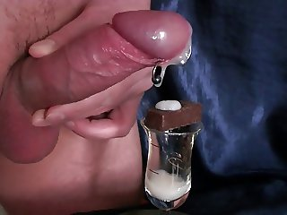 Huge Load of Cream Cum