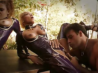 Large Clit Pussy Eating in Latex