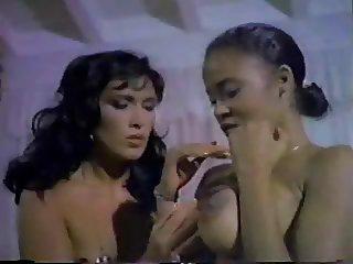 Lesbian scene Classic Porn Lilli Carati