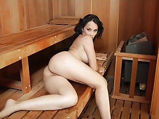 Hot Sauna Blow Job Sluts