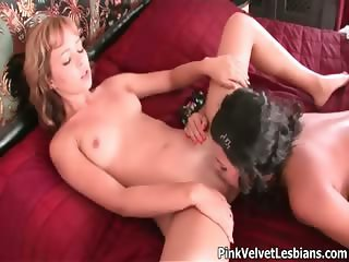 Sexy blonde babe gets horny part3