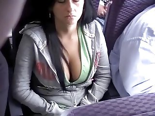 tits on a plane