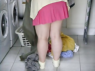 A quick flash of the wife 039 s pants