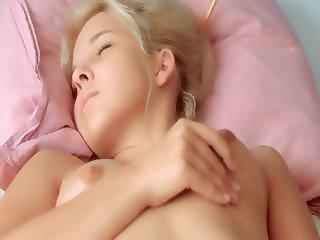fluent panties and pussy masturbation