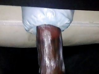 Black Guy With Homemade Pussy