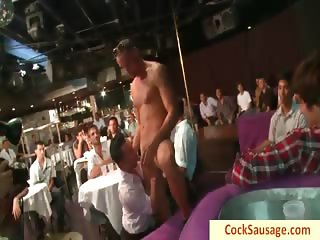 Group of guys all drunk getting sausaged part4
