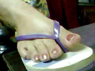 arab mature feet