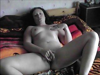British Slut Louise Sinclair Masturbates