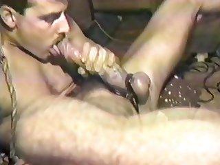 Vintage edger self sucker cock worship masturbation.