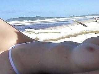 Wife at Beach