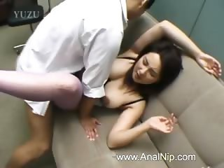 Perfect hairy bum sex from Tokyo