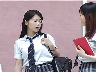 Japanese Lesbians All Girls School with a Dormitory 1