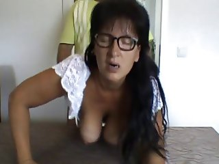 Susiberlin horny german mature with big tits gets fucked