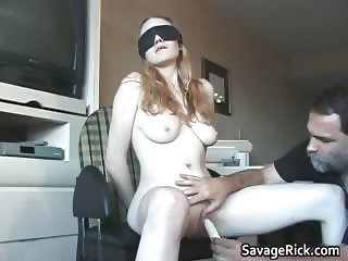 Balcony tied Isabella 10 by SavageRick part5