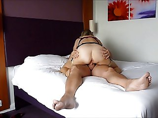 Mature bj and ride cock
