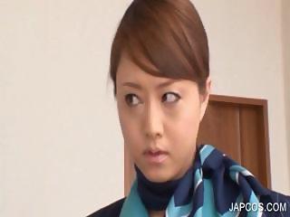Japanese babe mouth fucking penis