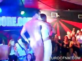 Whores taking dick at CFNM orgy