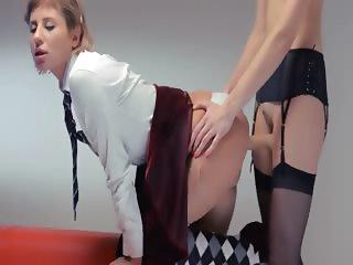 Neverending strap on girlsongirls action