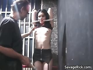 Nasty brunette Kate gets her beautiful part3