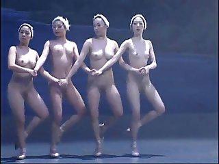 Nude Ballet Dancers 2