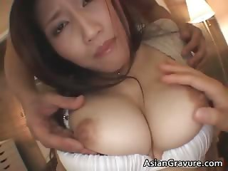 Bigtit real asian Nayuka gets her part4