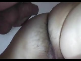 Anal with wet pussy