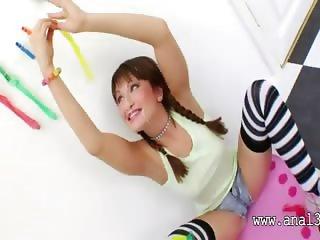Brutal bottom gangbang of bottom acrobat