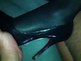 Fucking this amateur slut wife in lycra and heels 3