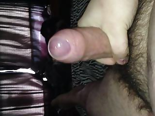 Jerking and cumming on my belly