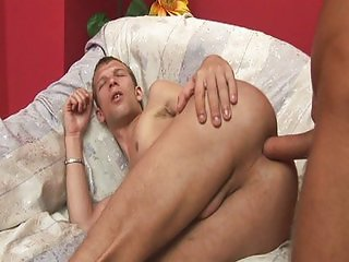 Horny pole smokers ass fuck to orgasm