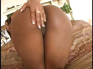 Big Booty Ebony Solo Action HD