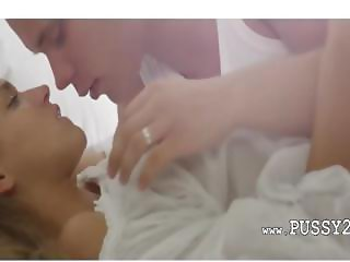 Just married hot babe in art movie