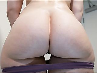 Boombastic mature ass closeup video